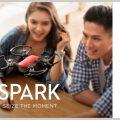手のひらサイズのミニドローン DJI SPARK(スパーク)の使い方