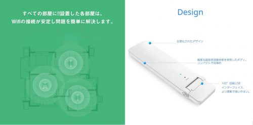 Xiaomi Mi WiFi Amplifier2について