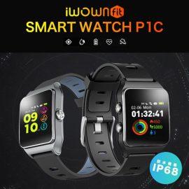 スマートウォッチ iWOWNfit から新作が登場!2019年最新のSmart Watch P1Cのご紹介