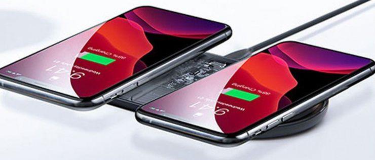 もちろんiPhone2台同時充電も