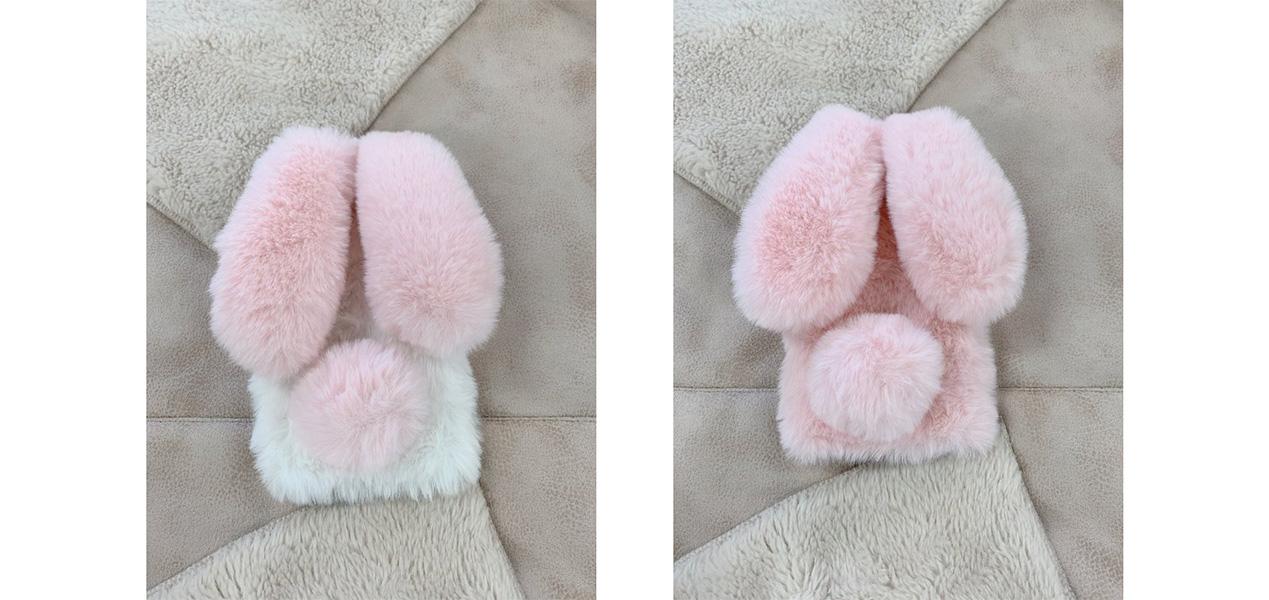 兎耳ラビットケースピンク