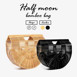 2019年インスタグラムトレンド!ハーフムーン(半月型)のバンブーバッグをご紹介